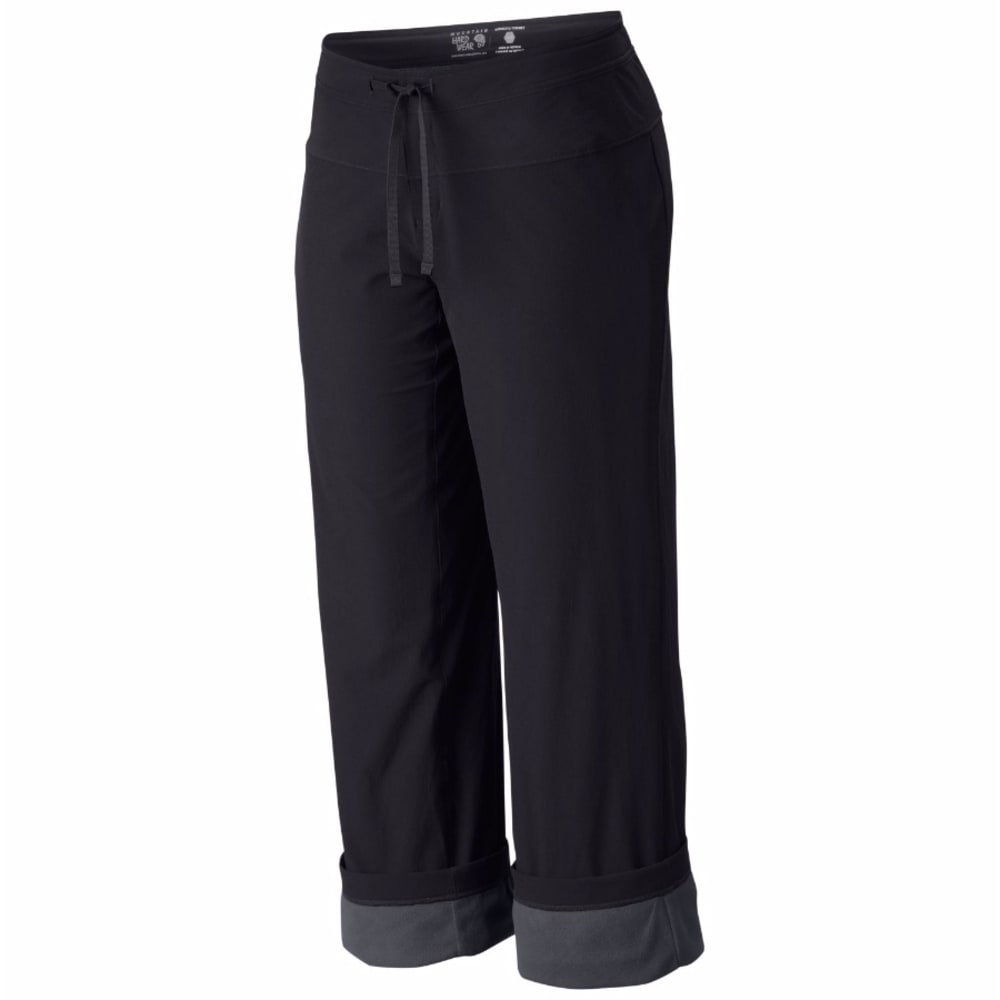 MOUNTAIN HARDWEAR Women's Yumalina™ Pants - 095-BLACK & GRAPHITE
