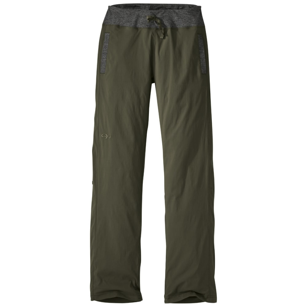 OUTDOOR RESEARCH Women's Zendo Pants - FATIGUE