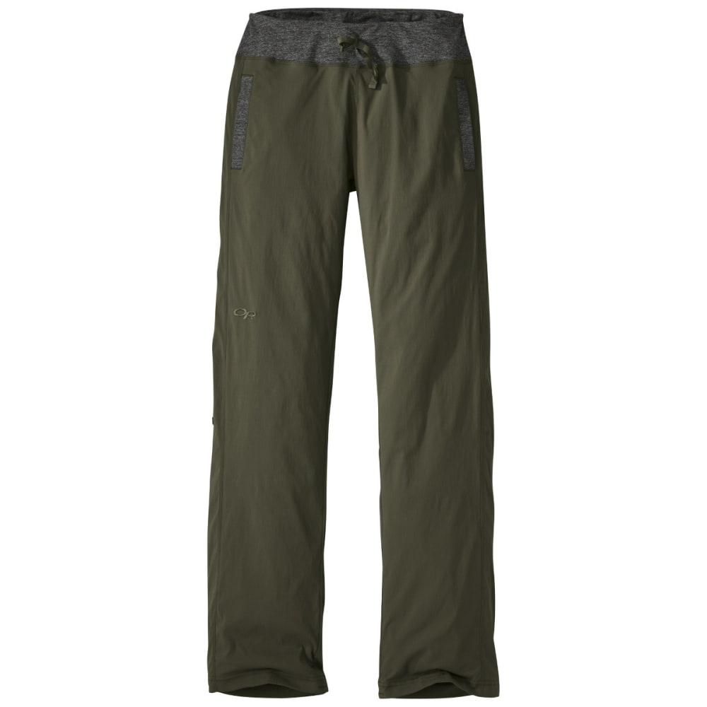 OUTDOOR RESEARCH Women's Zendo Pants - FATIGUE