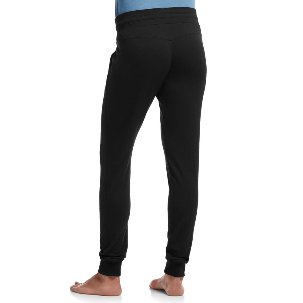 ICEBREAKER Women's Crush Sweatpants - BLACK/CHARCOAL