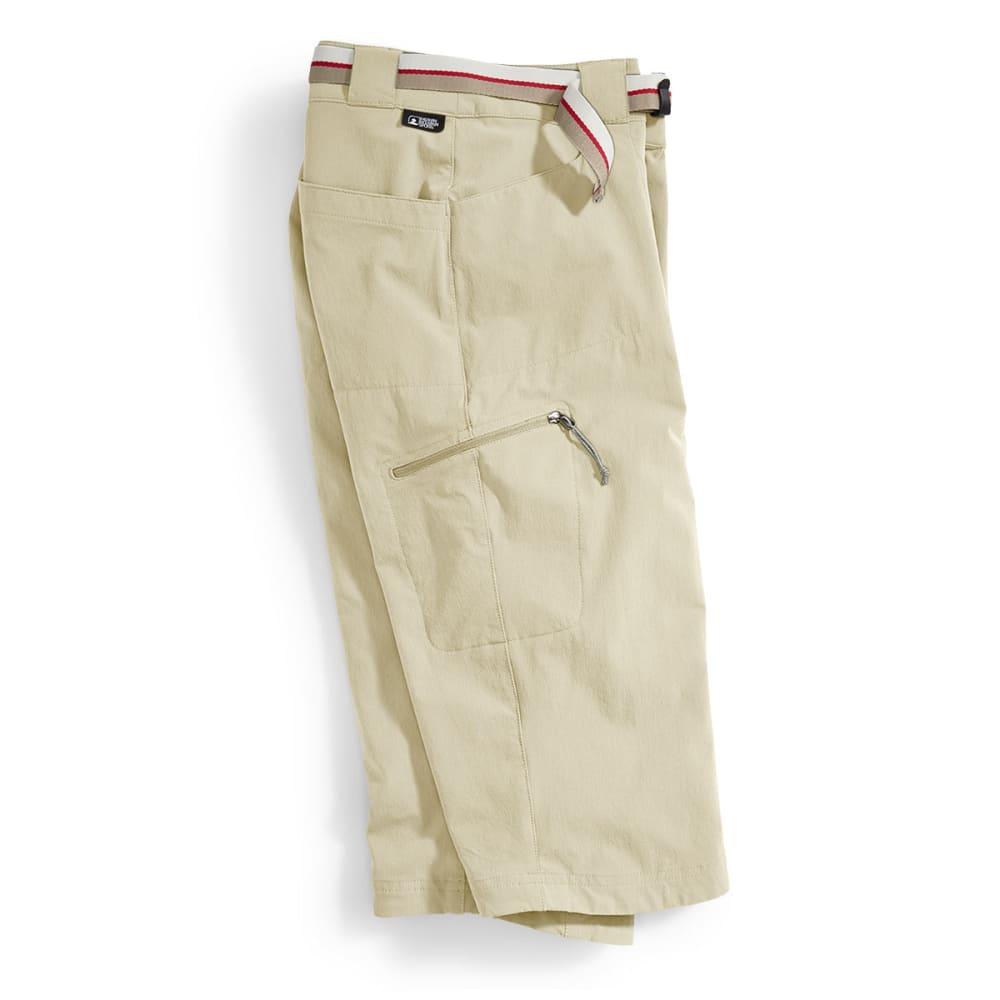 EMS Women's Compass Trek Capri Pants - WHITE PEPPER