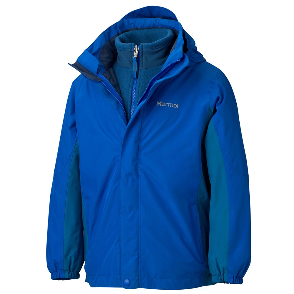 MARMOT Boys' Northshore Jacket - PEAK BLUE/DARK SAPPH