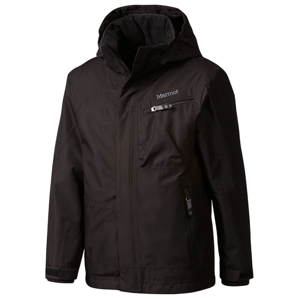 MARMOT Boys' Freerider Jacket - BLACK