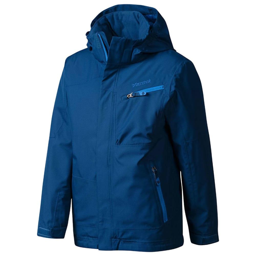 MARMOT Boys' Freerider Jacket - BLUE NIGHTS