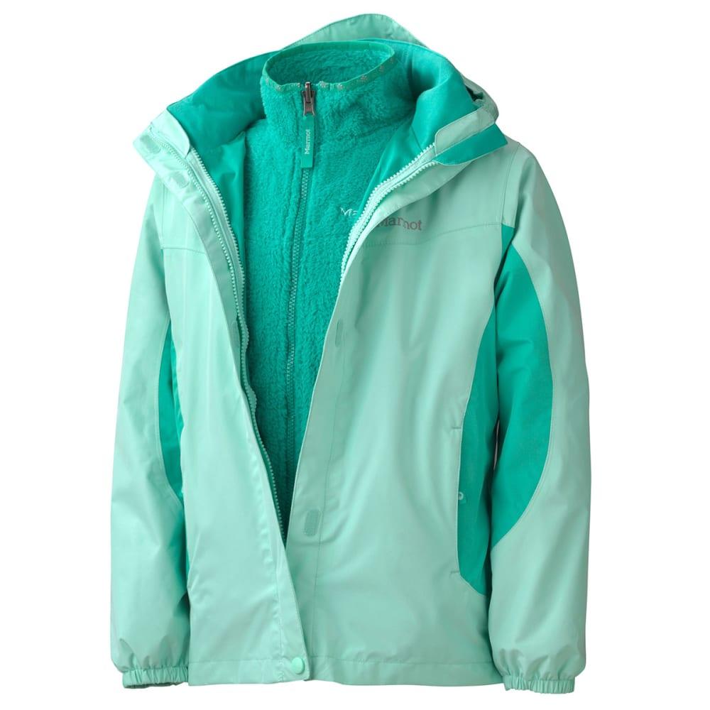 MARMOT Girls' Northshore Jacket - ICE LUSH