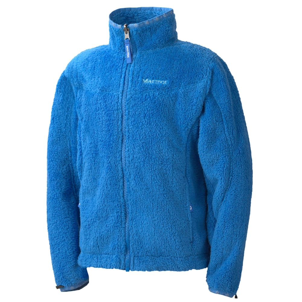 MARMOT Girls' Northshore Jacket - BLUE BAY/GEM BLUE