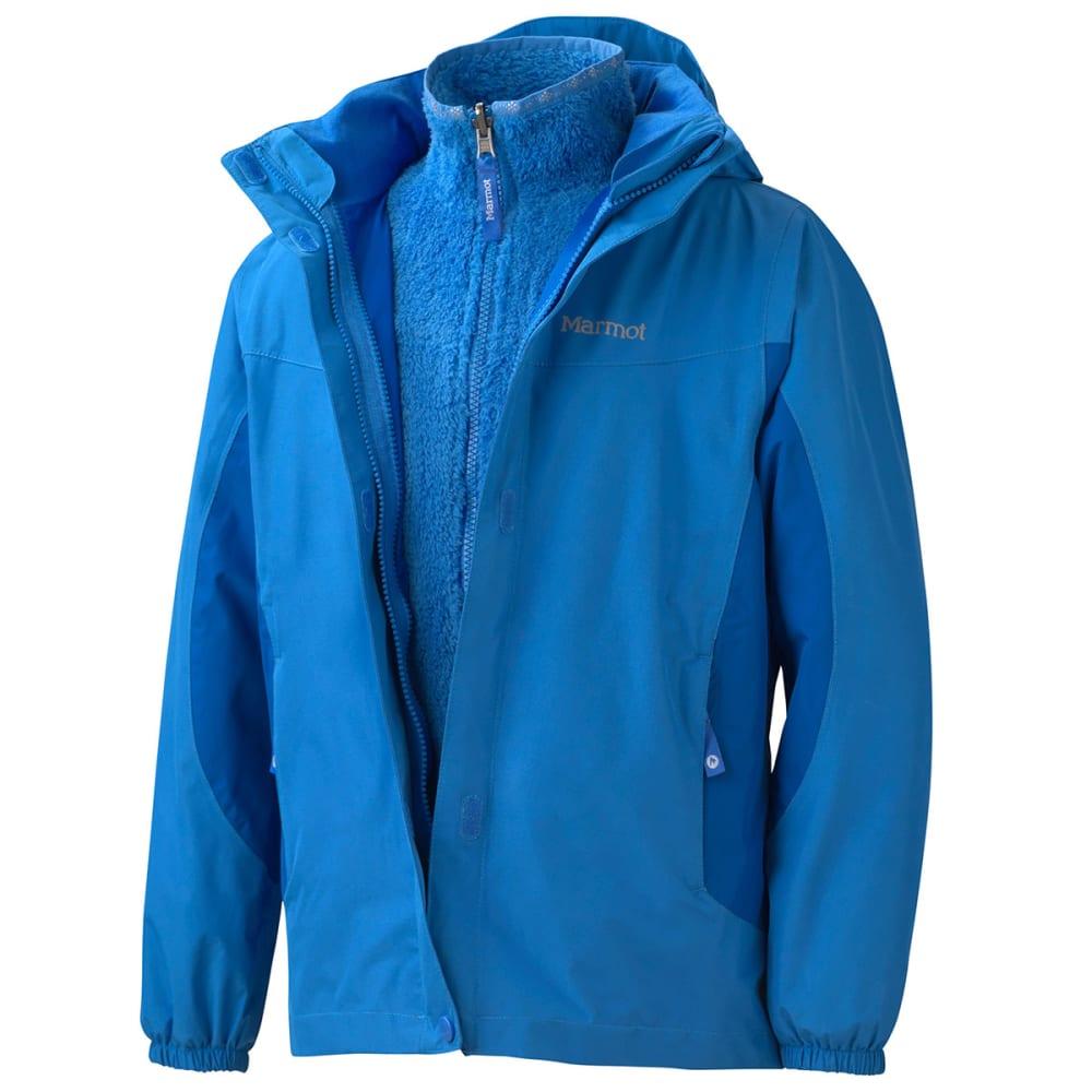 MARMOT Girls' Northshore Jacket - BLUE BAY/GEM BLUE