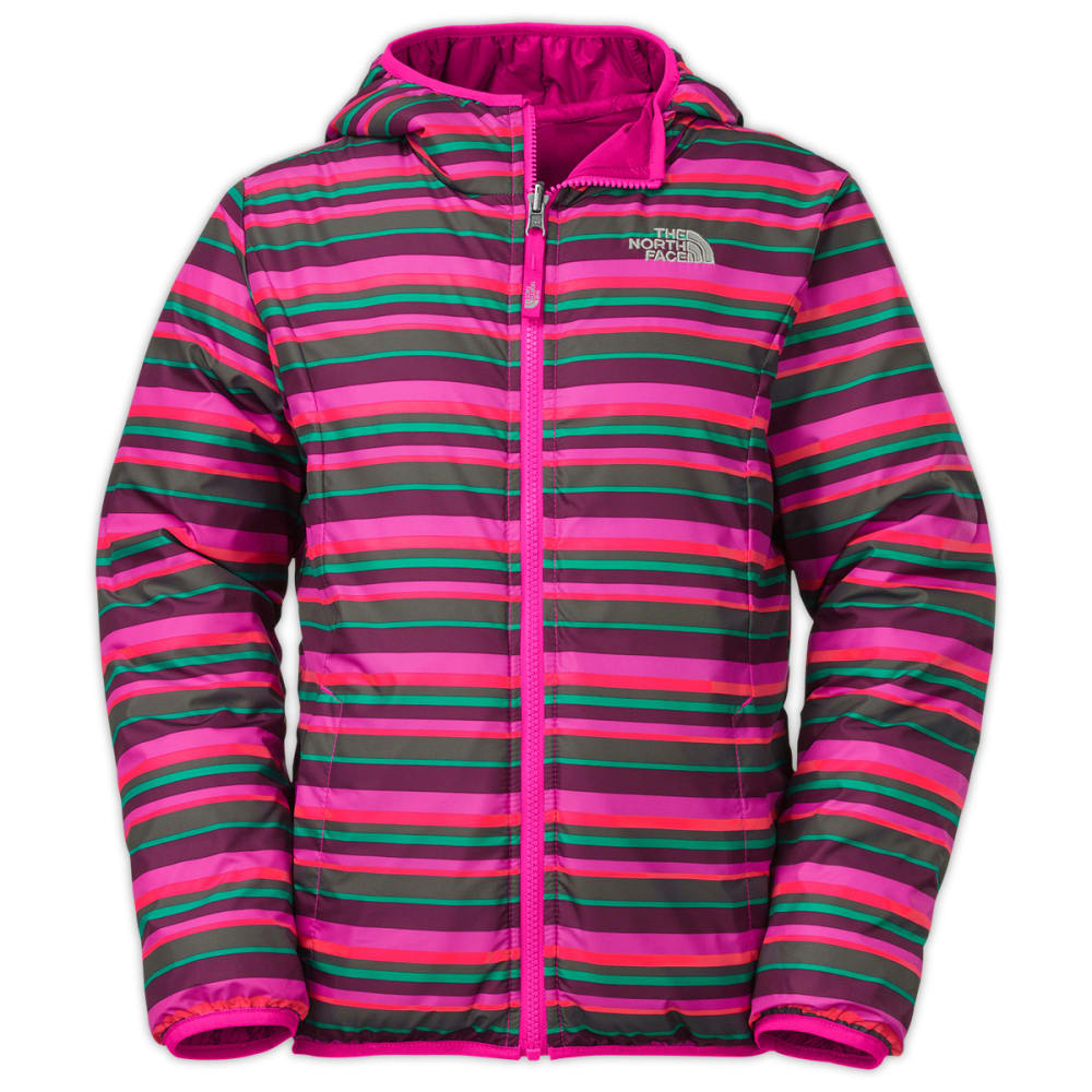 61a2cb49d562 THE NORTH FACE Girls  39  Reversible Perrito Jacket - AZALEA PINK
