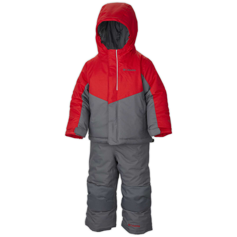 COLUMBIA Toddler Boys' Buga Set - GRAPHITE/ORANGE
