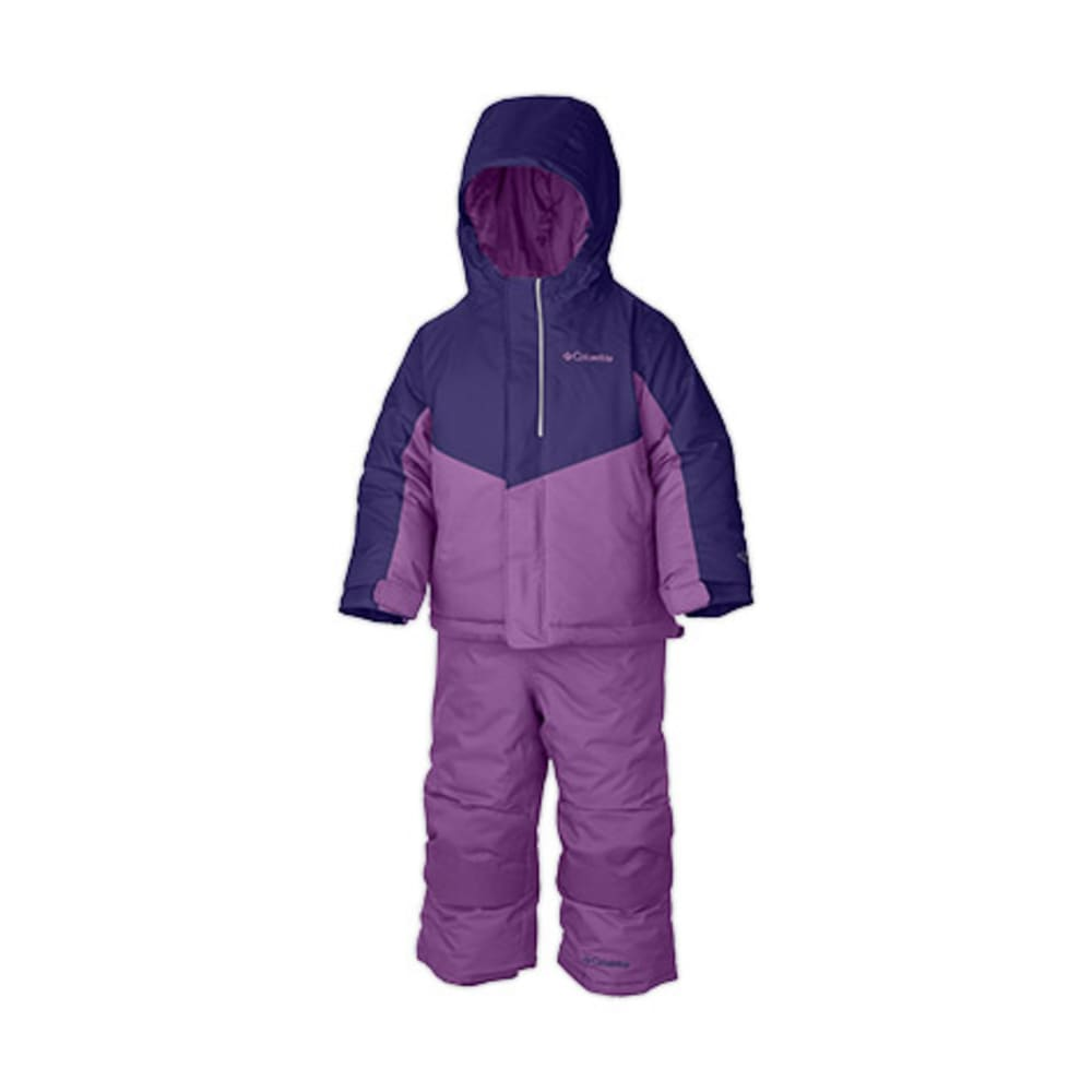COLUMBIA Toddler Girls' Buga Set - HYPER PURPLE/BLOSSOM