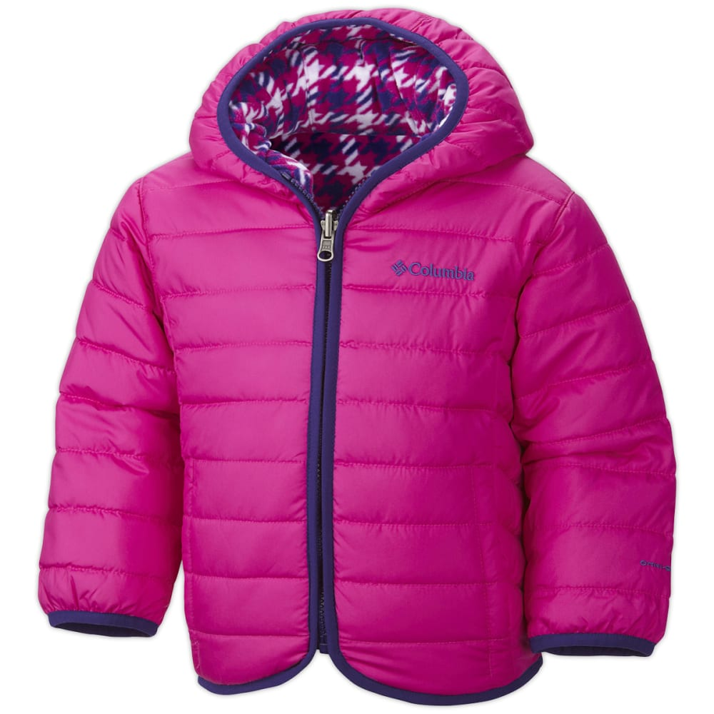 COLUMBIA Toddler Double Trouble Reversible Jacket - GROOVY PINK