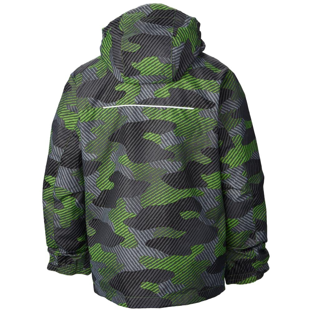 COLUMBIA Boy's Bugaboo™ Interchange Jacket - GREEN CAMO