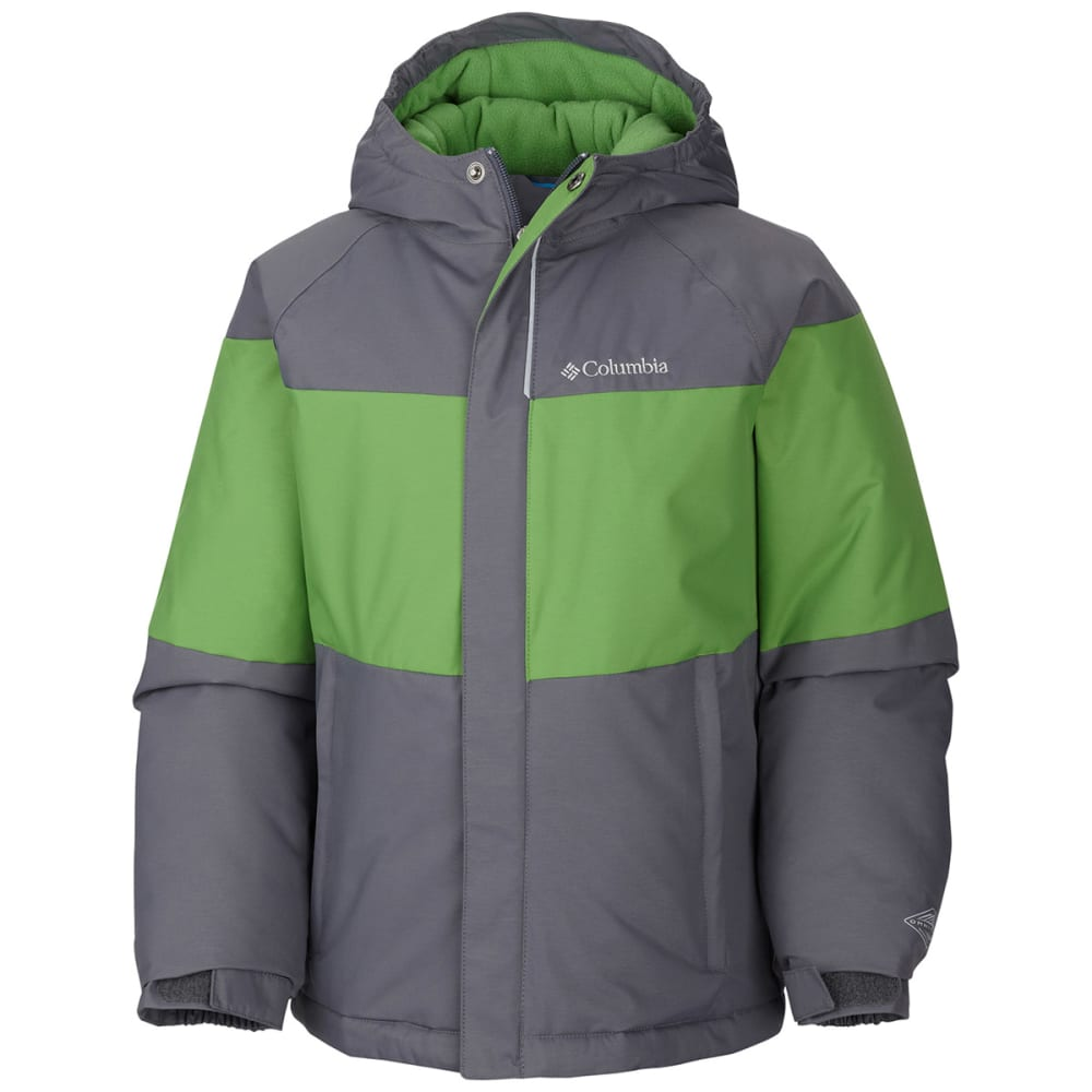 COLUMBIA Boy's Alpine Action™ Jacket - CYBER GREEN