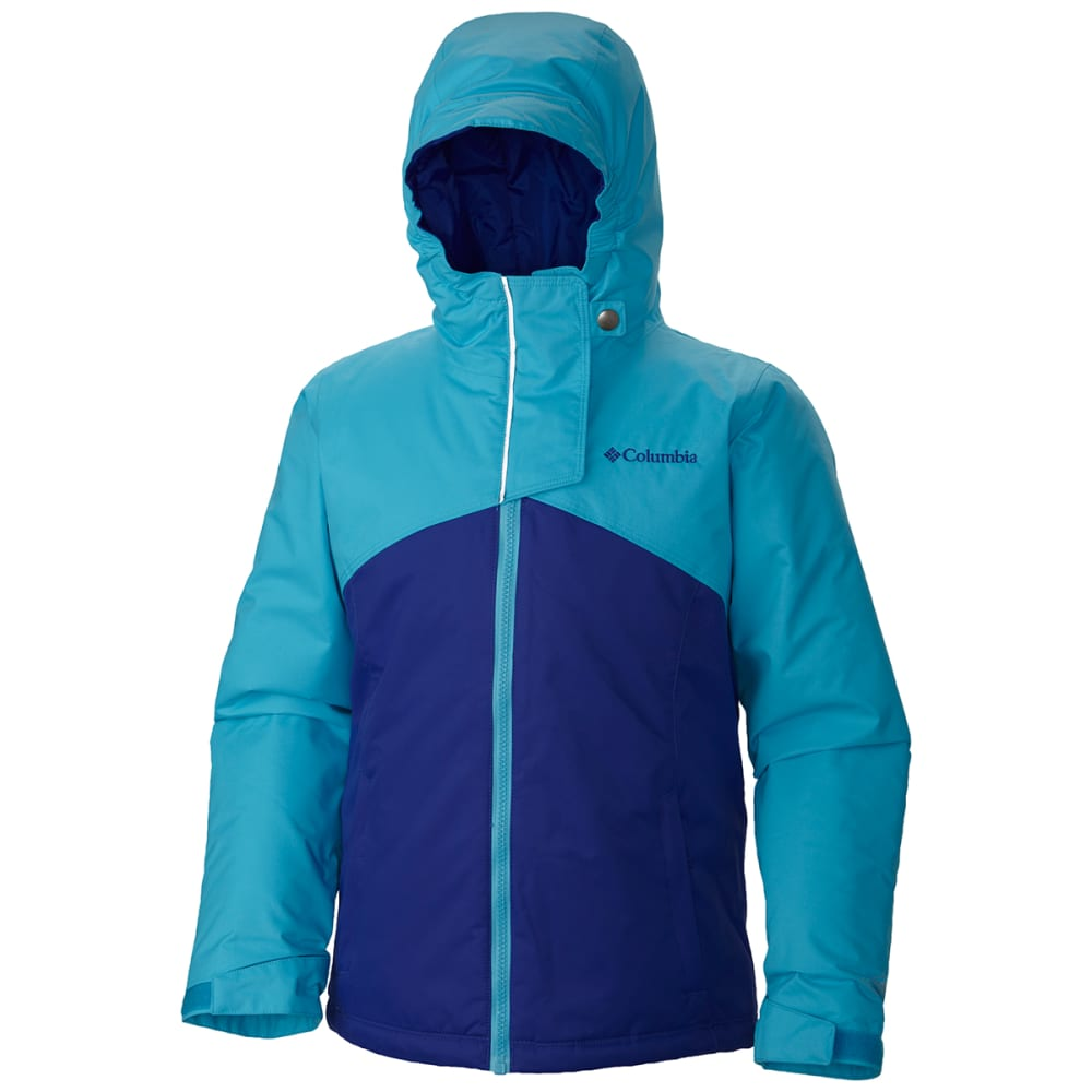 COLUMBIA Girl's Crash Course™ Jacket - ATOLL GRAPHITE