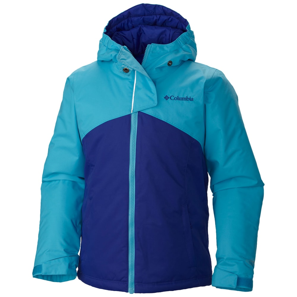 COLUMBIA Girl's Crash Course™ Jacket - ATOLL GRAPHITE
