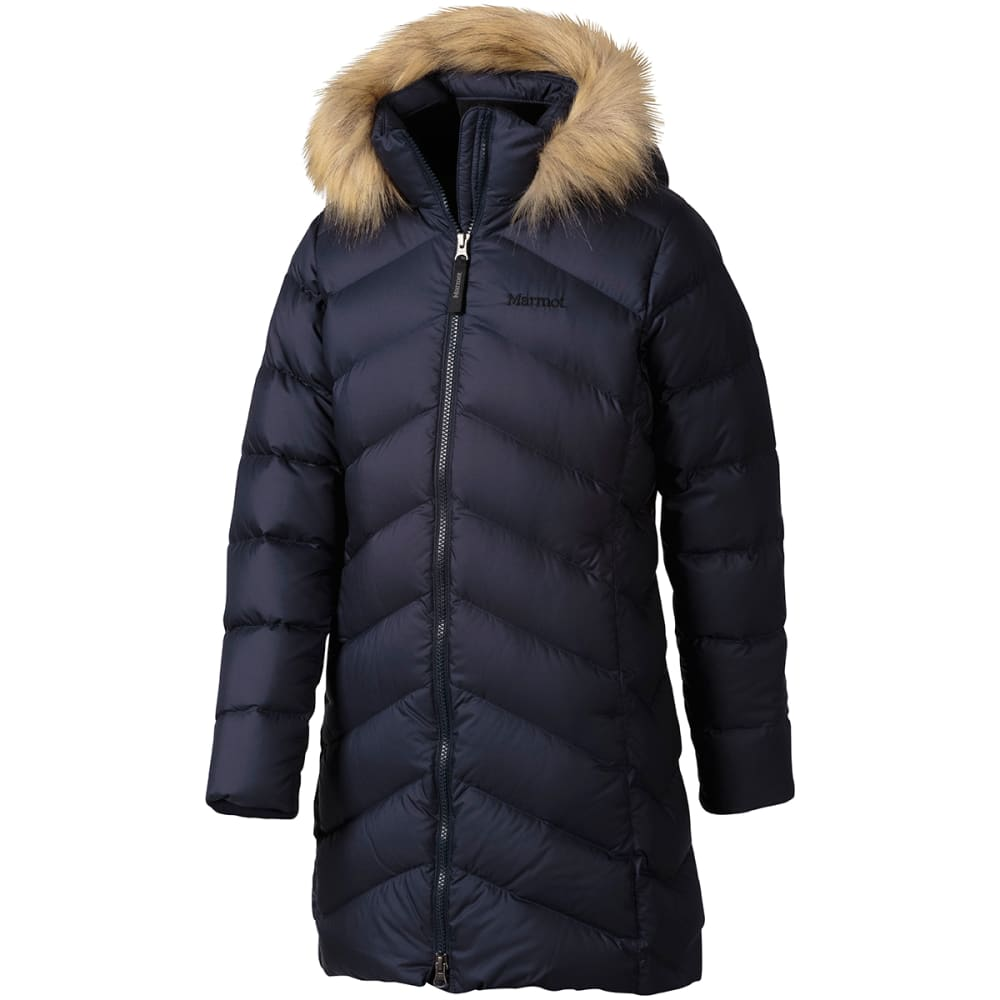 MARMOT Girls' Montreaux Jacket - MIDNIGHT NAVY