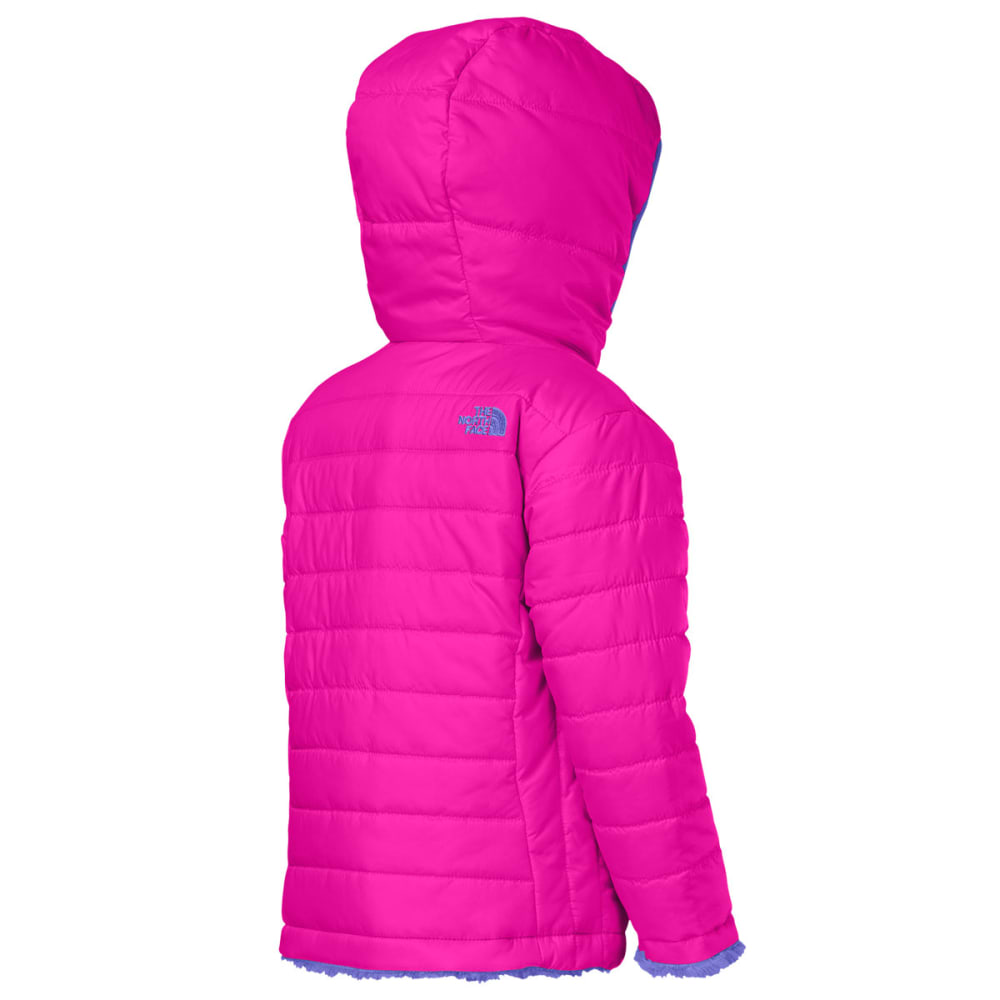 9a5892fbc THE NORTH FACE Girl's Toddler Reversible Mossbud Swirl Jacket