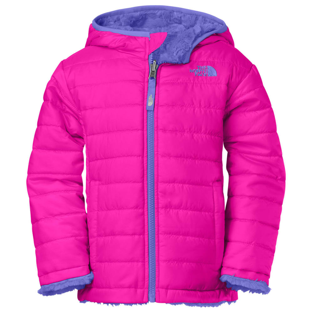 24cde911a THE NORTH FACE Girl's Toddler Reversible Mossbud Swirl Jacket