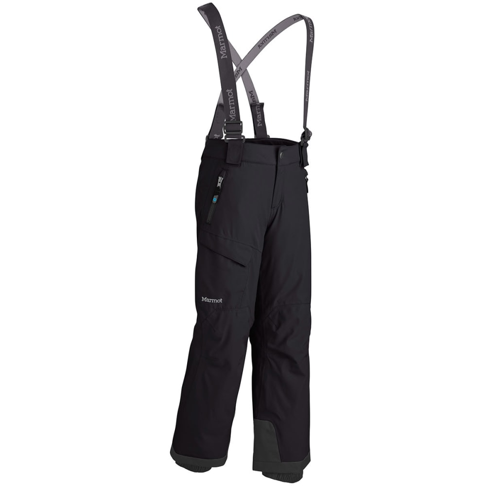 MARMOT Boys' Edge Insulated Pants - BLACK