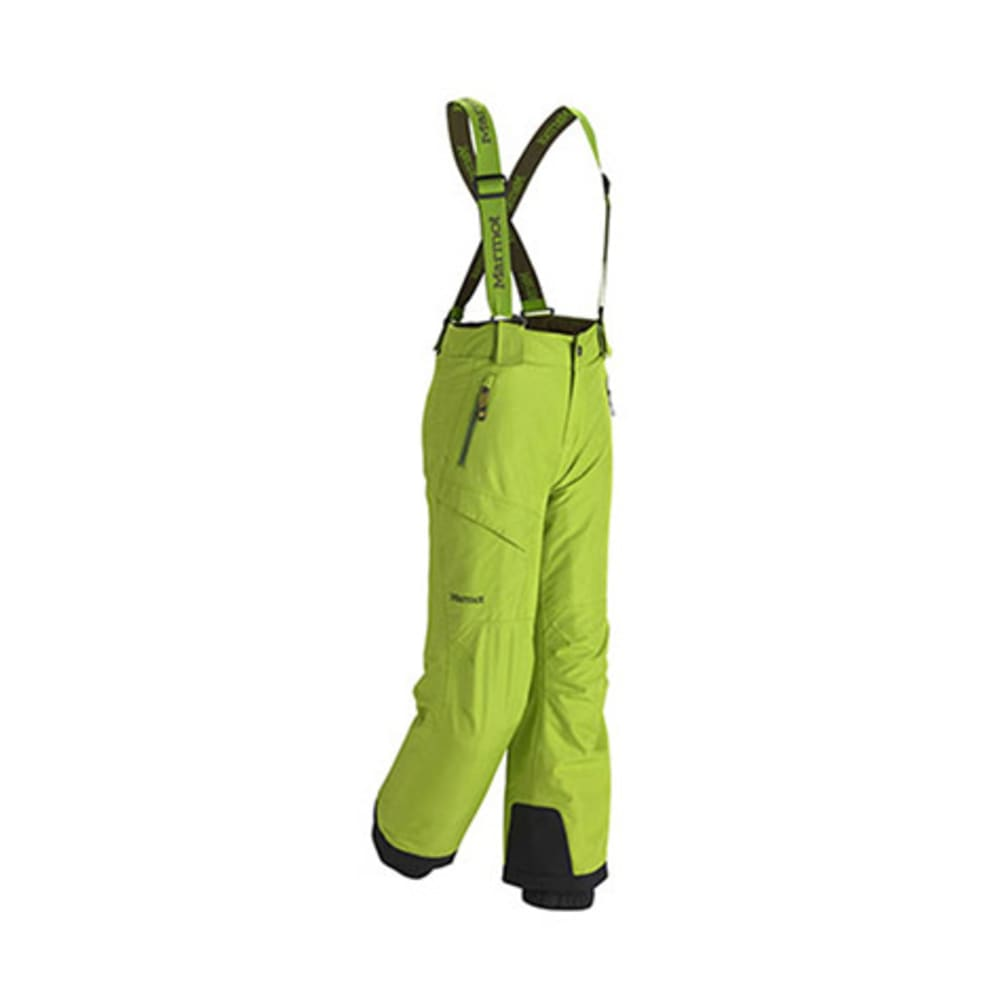 MARMOT Boys' Edge Insulated Pants - GREEN LICHEN