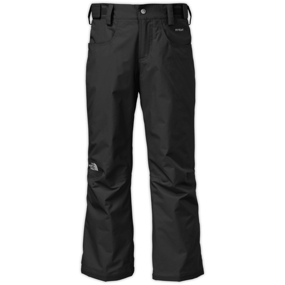 THE NORTH FACE Girls' Freedom Insulated Pants - TNF BLACK