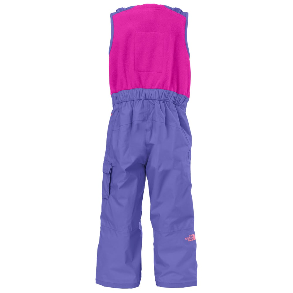 ac691d784 THE NORTH FACE Girl's Toddler Insulated Bib - STARRY PURPLE