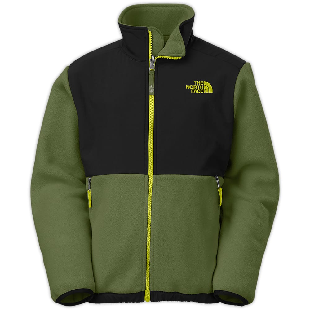 THE NORTH FACE Boys' Denali Jacket - SCALLION GREEN