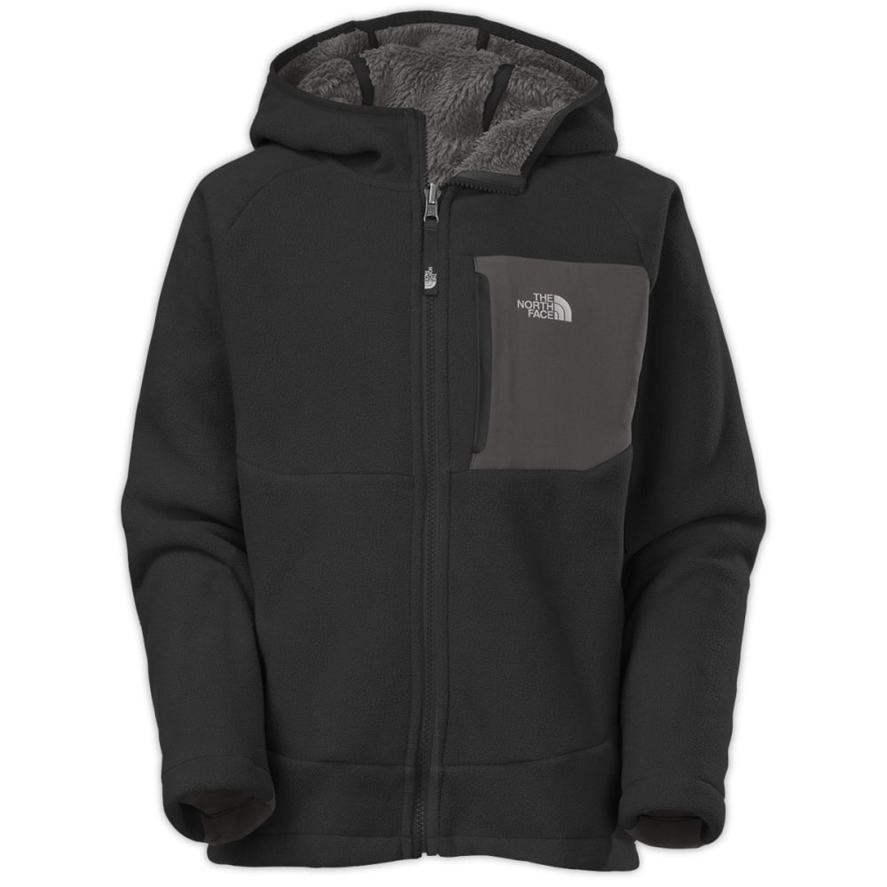 THE NORTH FACE Boys' Chimborazo Hoodie - JK3-TNF BLACK