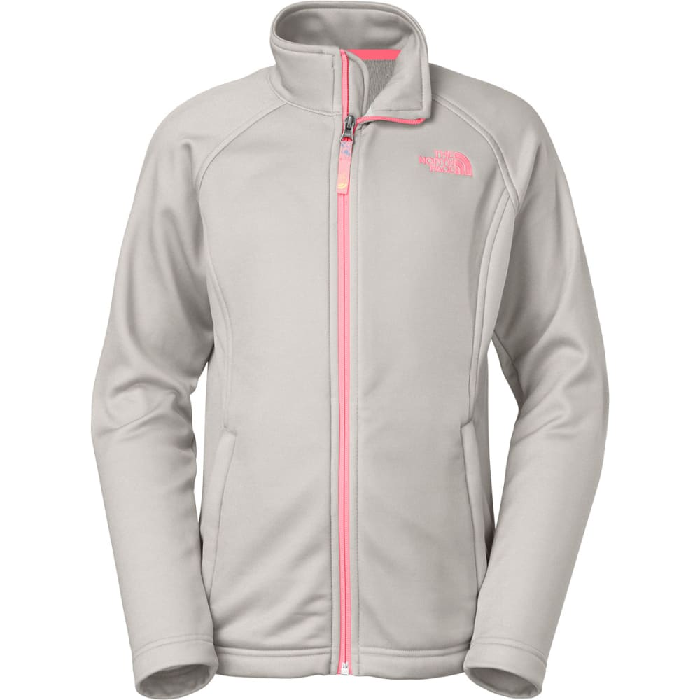 THE NORTH FACE Girls' LW Agave Jacket - HIGH RISE GREY HEATH