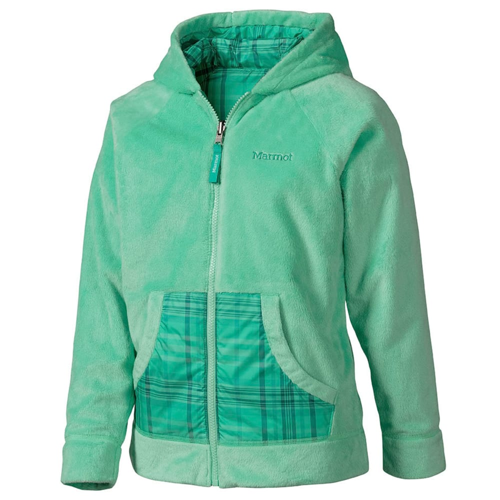 MARMOT Girls' Snow Fall Reversible Jacket - GREEN
