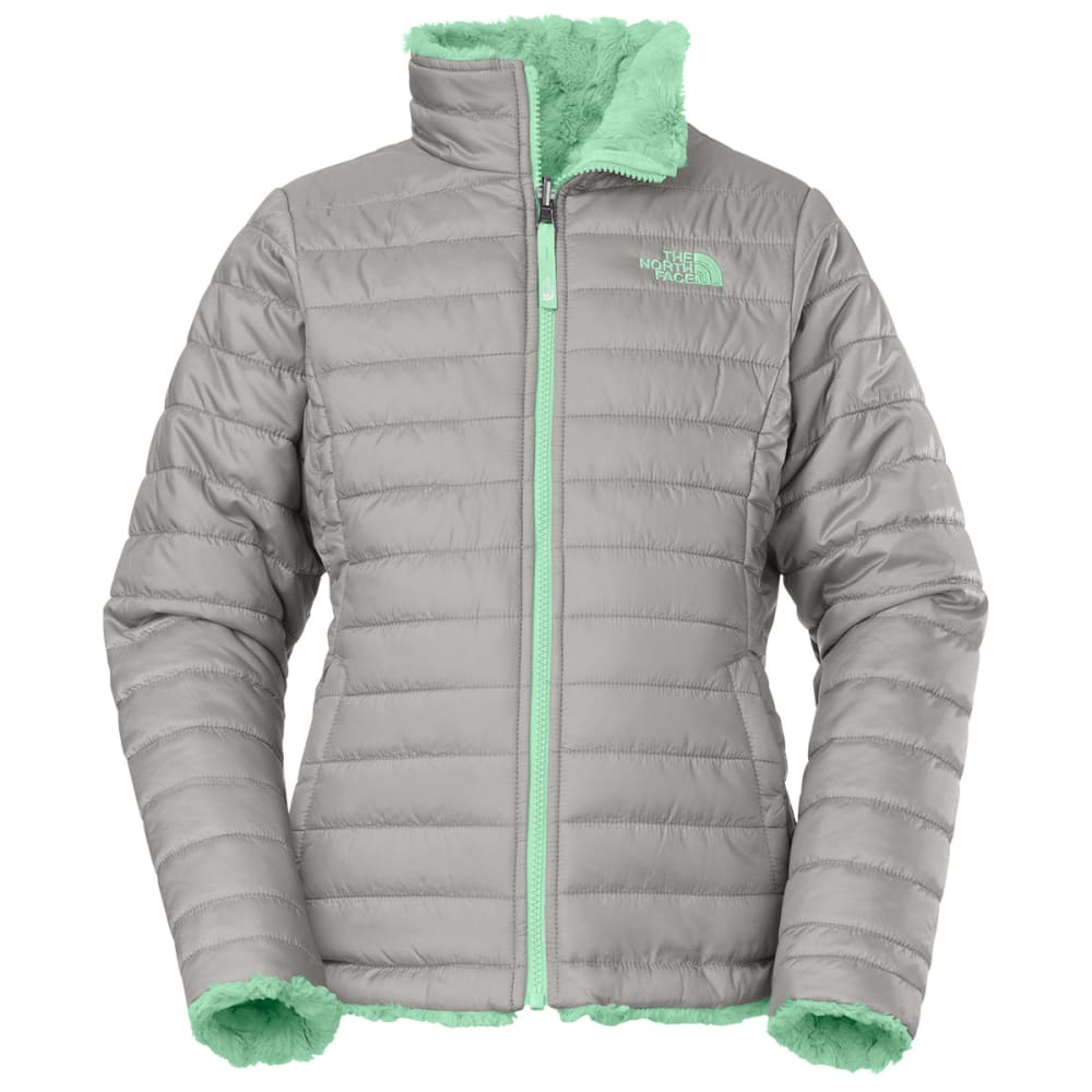 f39ac8c08 THE NORTH FACE Girl's Reversible Mossbud Swirl Jacket
