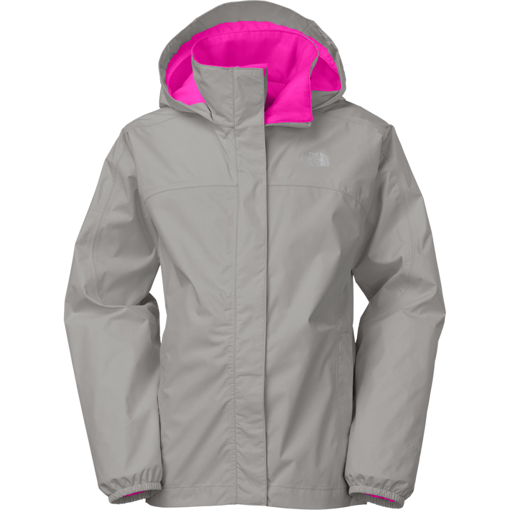 THE NORTH FACE Girls' Resolve Reflective Jacket - SILVER