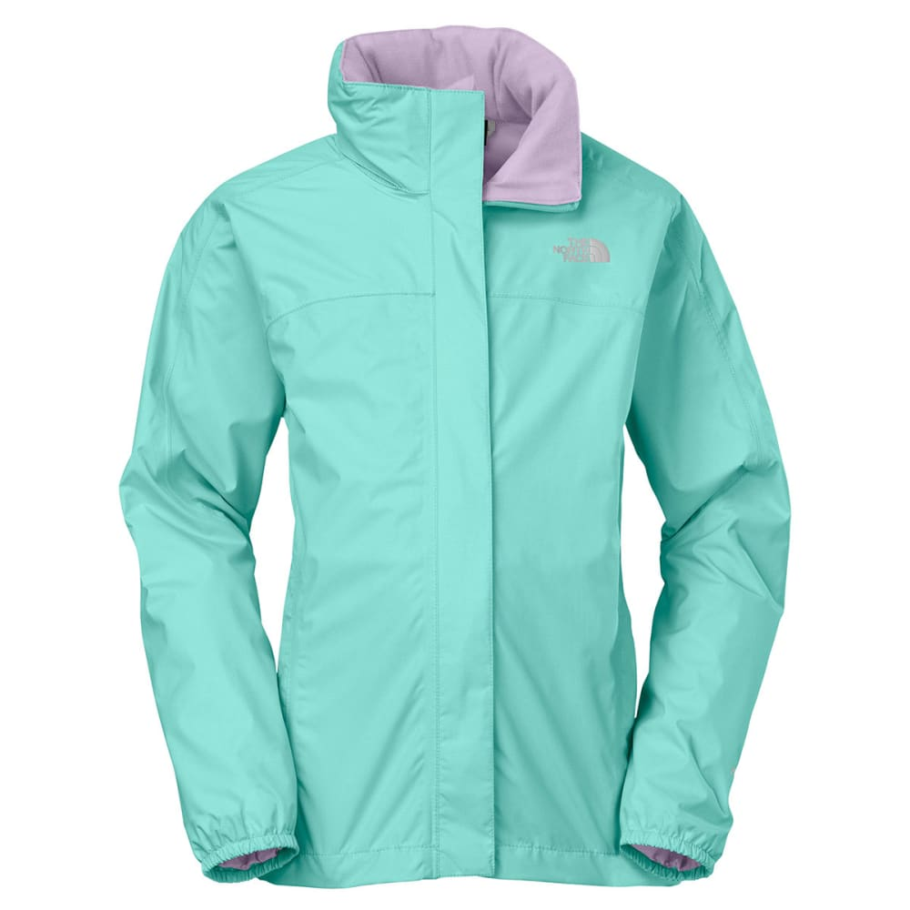 THE NORTH FACE Girls' Resolve Reflective Jacket - BONNIE BLUE