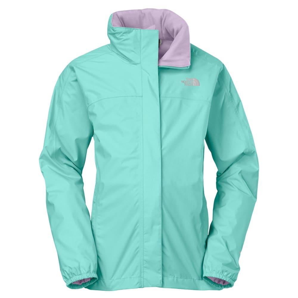 41daa81ae THE NORTH FACE Girls' Resolve Reflective Jacket - BONNIE BLUE