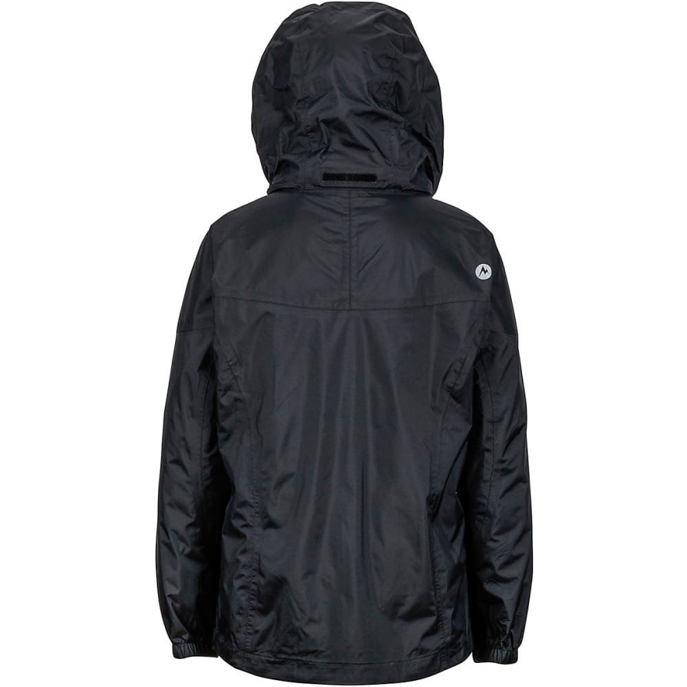 MARMOT Girls' PreCip Rain Jacket - BLACK
