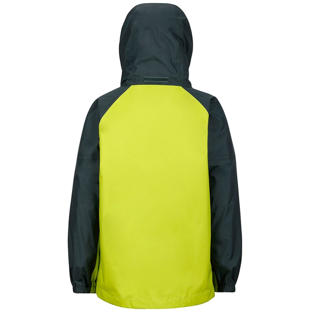 MARMOT Boys' PreCip Rain Jacket - BRIGHT LICHEN