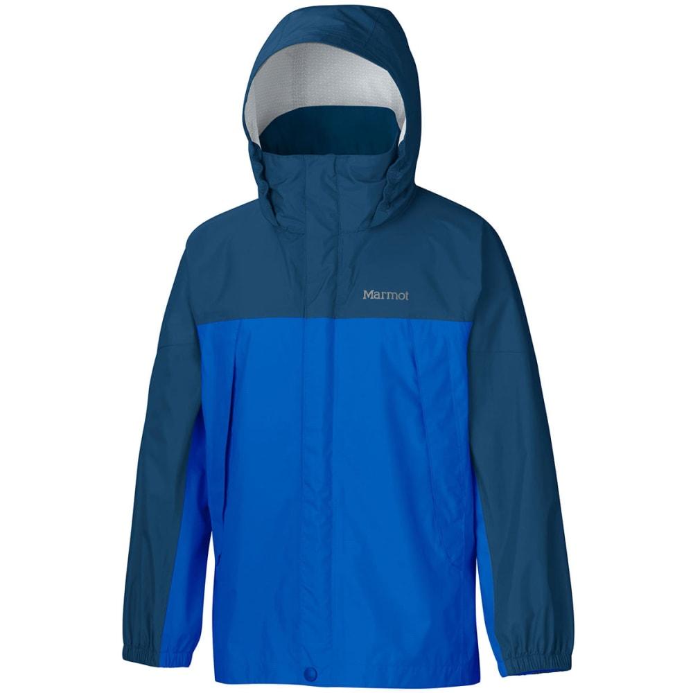 MARMOT Boys' PreCip Rain Jacket - COBALT BLUE