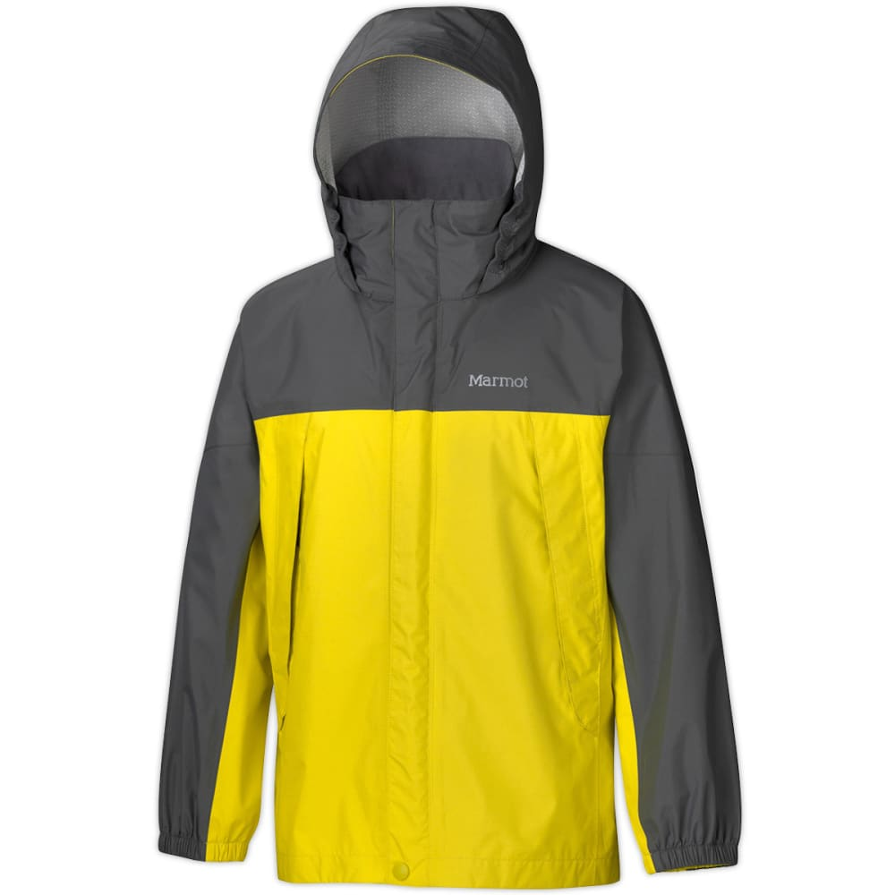 MARMOT Boys' PreCip Rain Jacket - ACID YELLOW