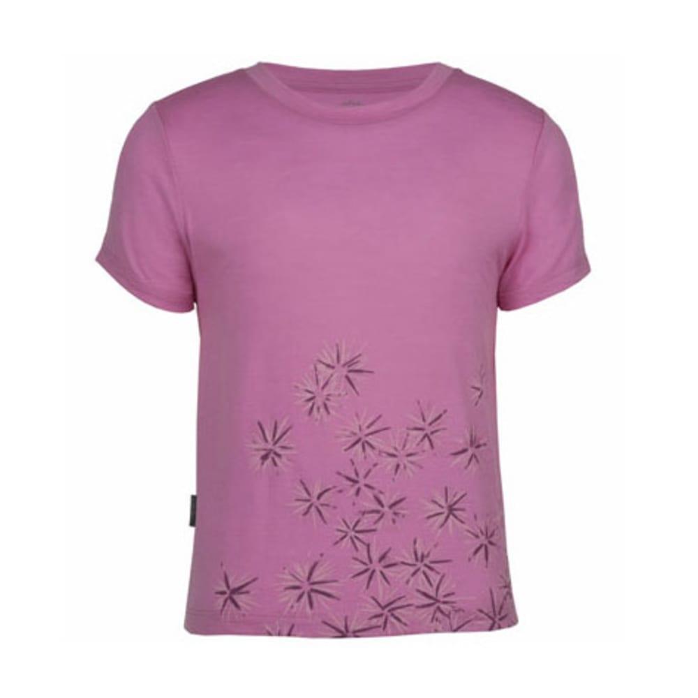 ICEBREAKER Girl's Scatter Tech T Lite Shirt - PEONY