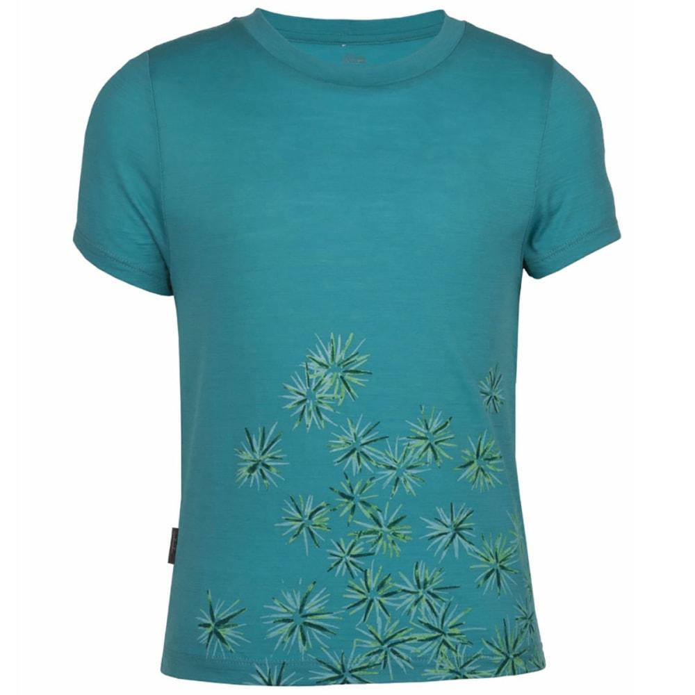 ICEBREAKER Girl's Scatter Tech T Lite Shirt - TROPIC