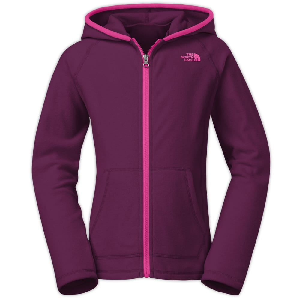 THE NORTH FACE Girls' Glacier Full-Zip Hoodie - PURPLE