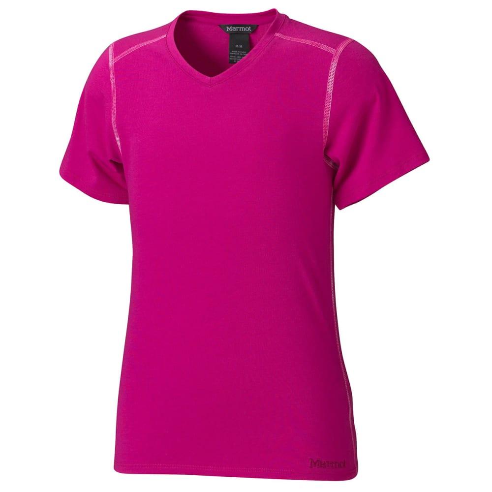 MARMOT Girls' Jaden T-Shirt, S/S - LIPSTICK