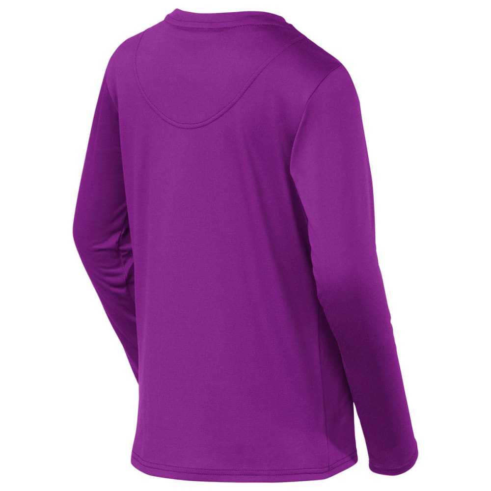 THE NORTH FACE Girls' Argali Hike Tee, L/S - IRIS PURPLE