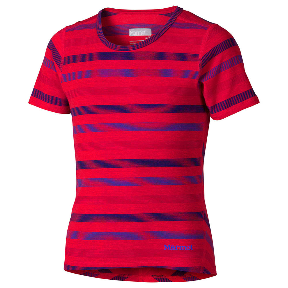 MARMOT Girls' Gracie Short-Sleeve Tee - SUM PINK