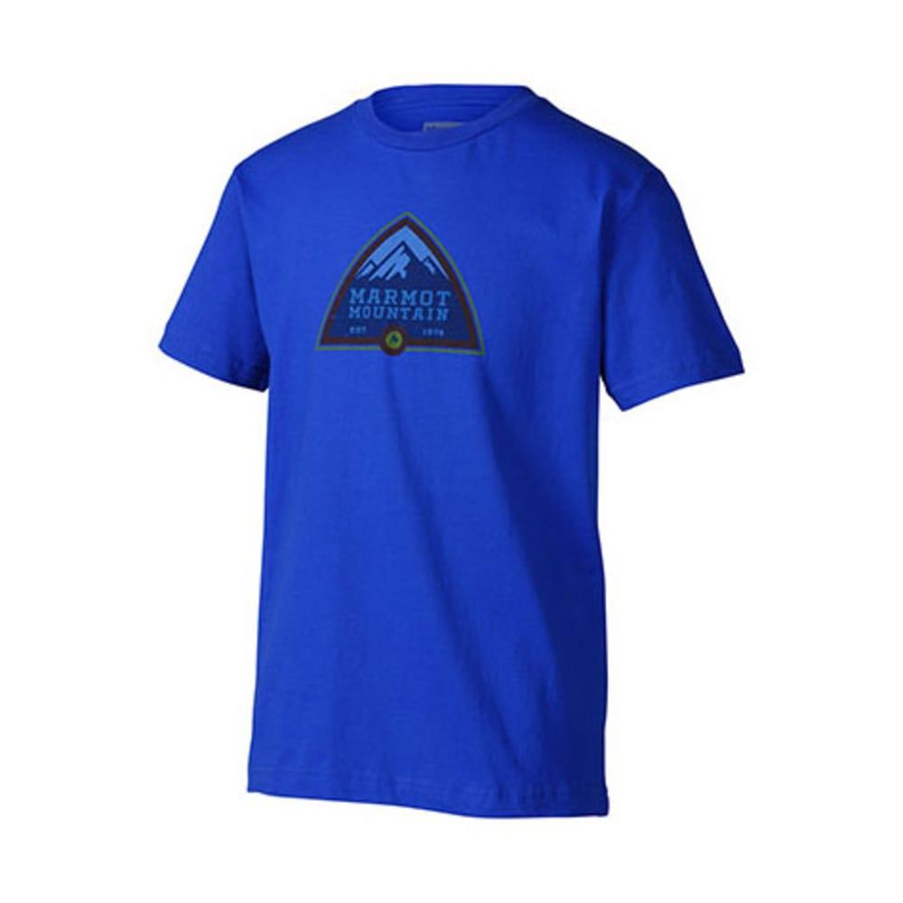 MARMOT Boys' Tioga Pass T-Shirt, S/S - BRIGHT GRASS