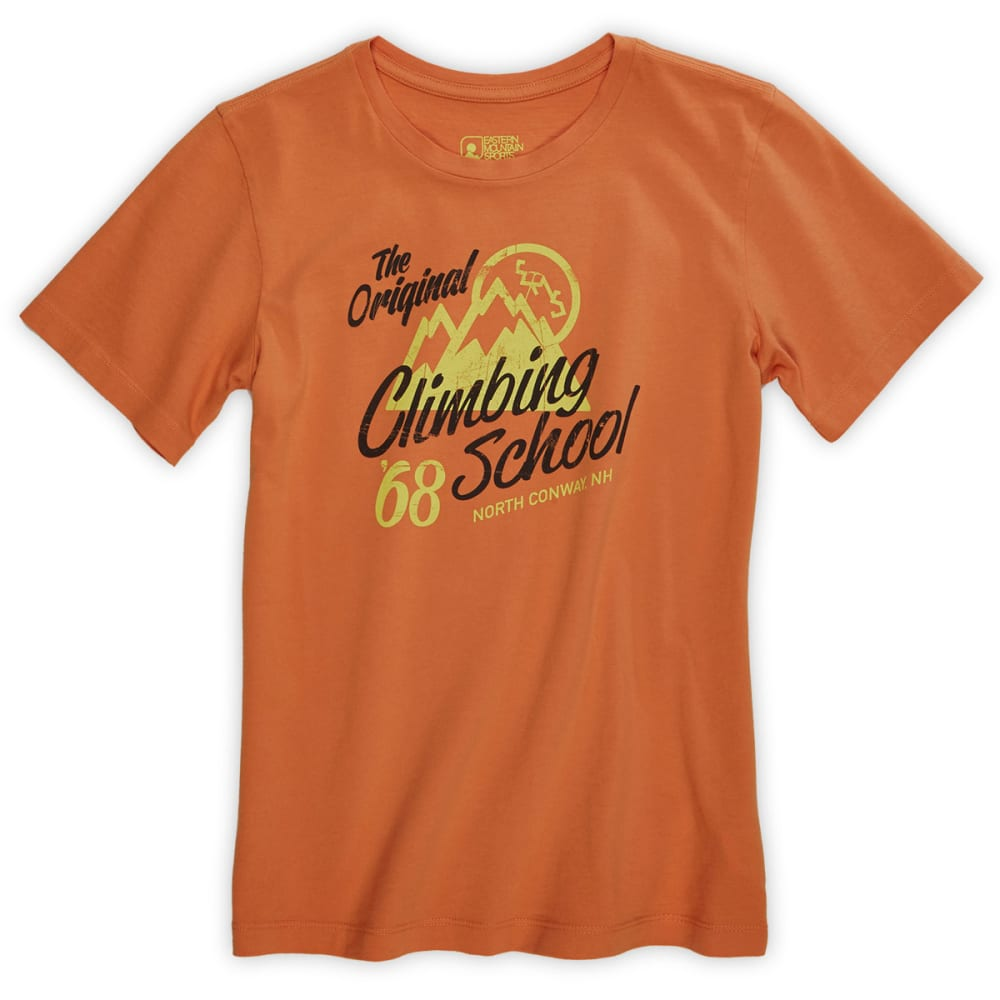 EMS® Boys' Climbing School Graphic Tee - APRICOT