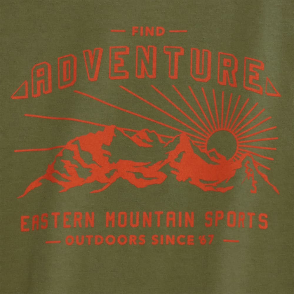 EMS® Boys' Find Adventure Graphic Tee - LODEN GREEN