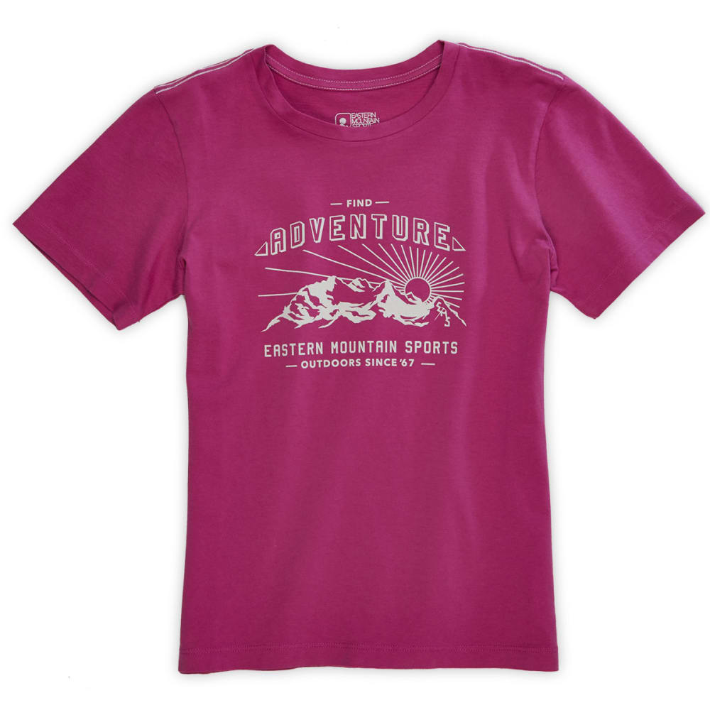 EMS® Girls' Find Adventure Graphic Tee - PURPLE ORCHID