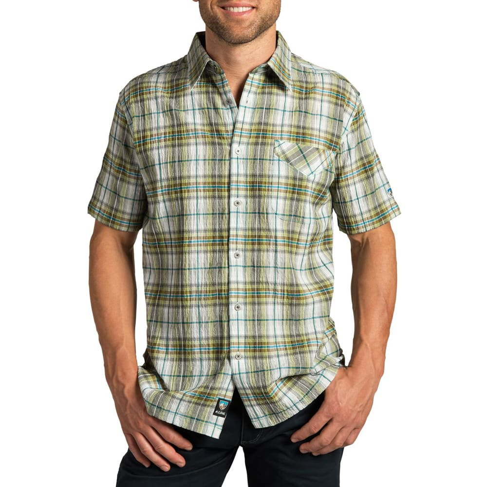KÜHL Boys' Stallion Short-Sleeve Shirt - SKUBA LIME