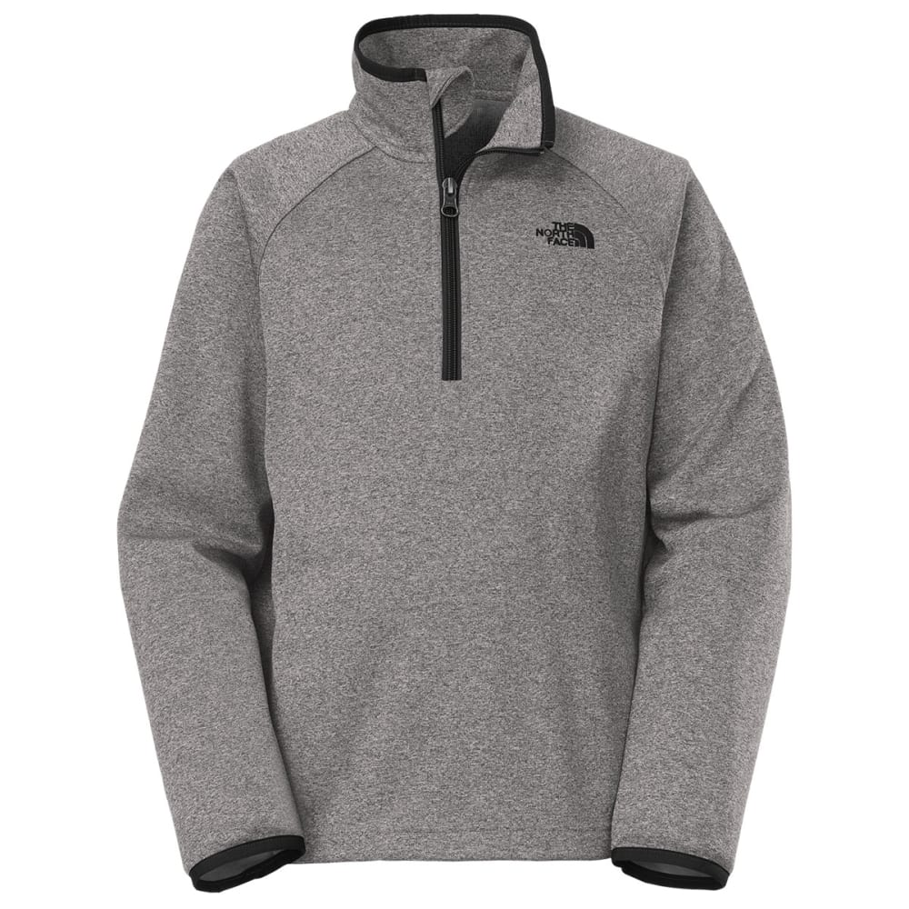 THE NORTH FACE Boys' Canyonlands  ¼ Zip Jacket - GRAPHITE GREY